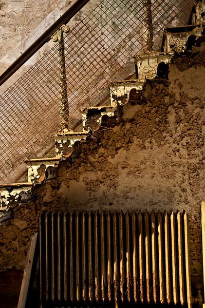 Prison staircase