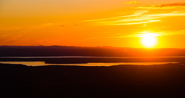 Cadillac Mountain Sunset, Acadia National Park