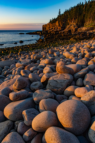 Boulder Beach, Acadia National Park, Maine