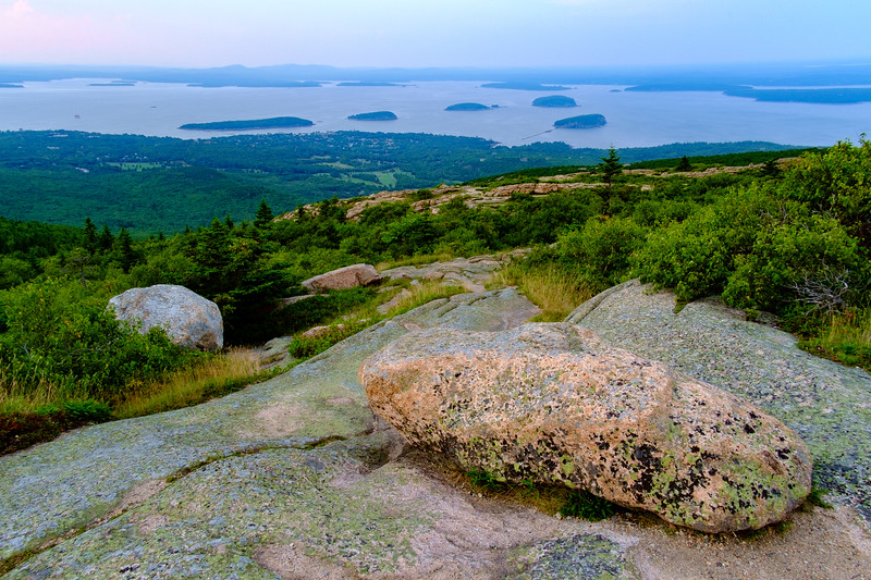 View from Cadillac Mountain, Acadia National Park