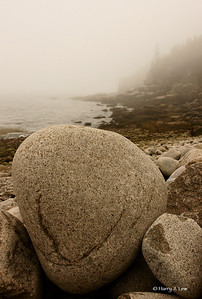 More boulders (what else?) on Boulder Beach, Acadia National Park.