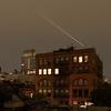 Manhatten, New York at night