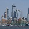 Manhatten Skyline from the Hudson River, New York