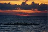 Sunset off the North Shore (Was the cover of the 2003 Kialoa Paddle Brochure)