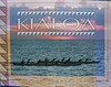 """Cover of the 2003 Kialoa outrigger paddle catalog. This was taken at sunset of the North Short wahine practice before the molokai race. The original picture is <a href=""""http://action-images.smugmug.com/gallery/1224135/1/57321792/Large"""">http://action-images.smugmug.com/gallery/1224135/1/57321792/Large</a> ."""