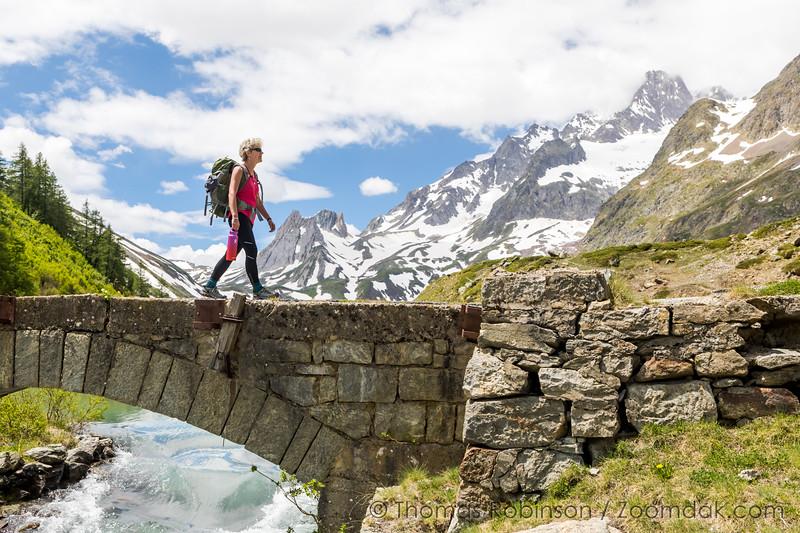Hiking the Tour du Mont Blac