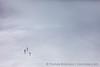 Three Hikers Climbing South Sister
