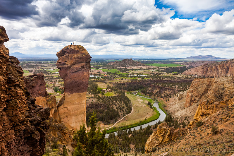 Monkey Face Climb, Smith Rock State Park