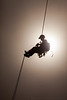 Backlit Belay