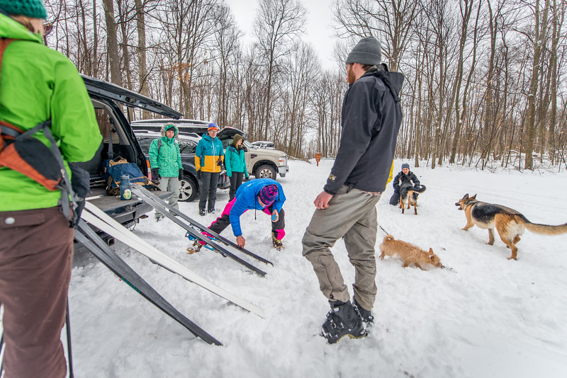 Cross Country Skiing_Snake Hill_West Virginia_photo by Gabe DeWitt_February 21, 2015-2