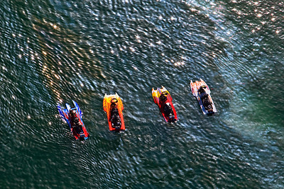 Aerial - Boat races, Firebird Lake