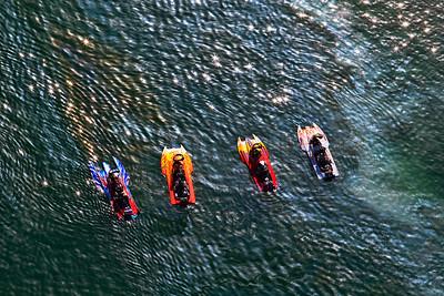 Aerial - Boat races, Firebird Lake