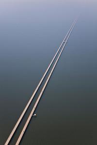 Highway into the fog - Louisiana