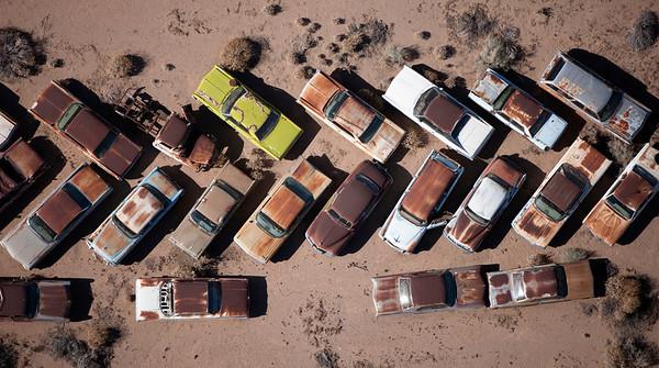 Wrecking yard - AZ
