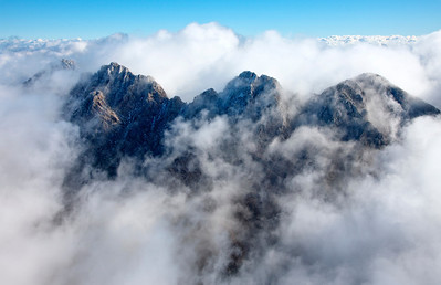 Four Peaks in the Clouds - AZ