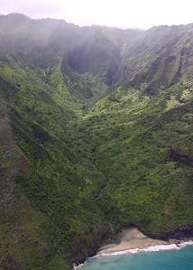 Hanakapi`ai Valley and Beach