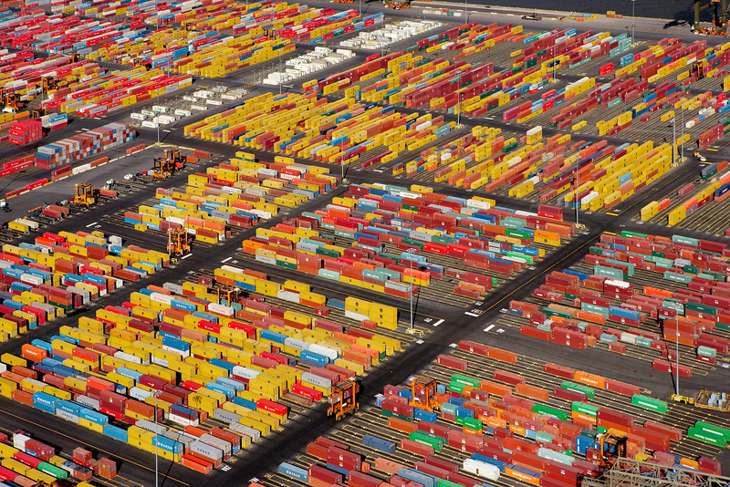 Shipping Container Yard