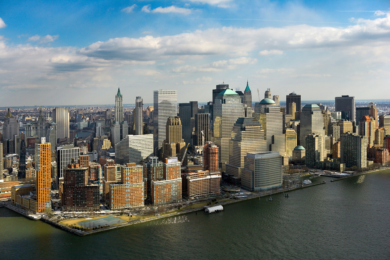 Financial District of New York City