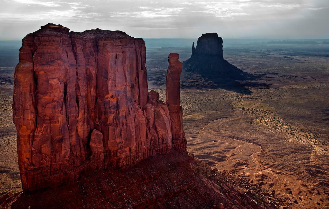 The Mittens - Monument Valley Arizona
