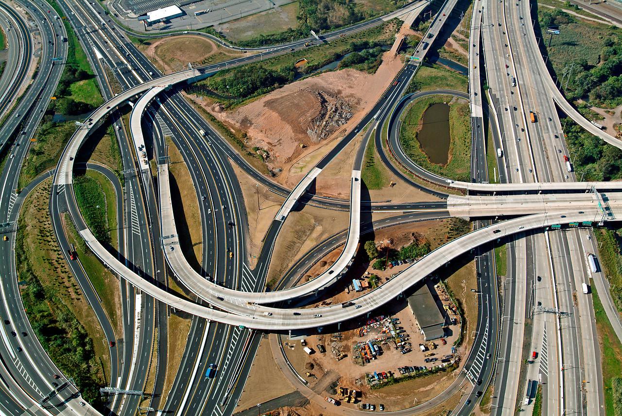 Massive Highway Interchange, New Jersey