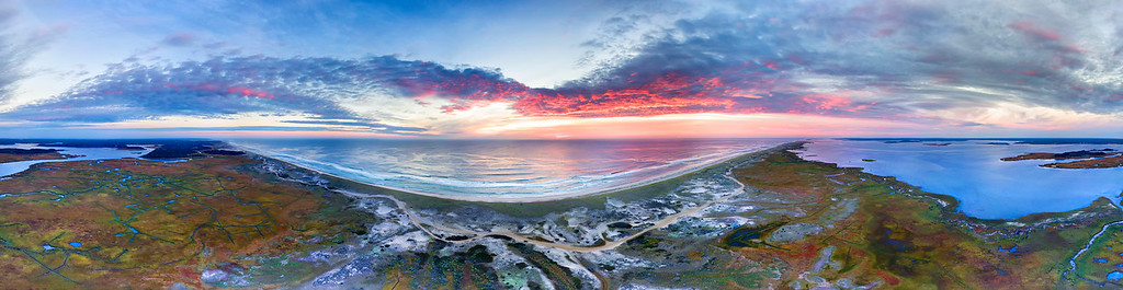 Morning Aerial Outer Beach