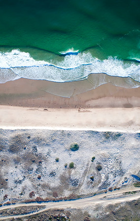 Nauset Beach Aerial View
