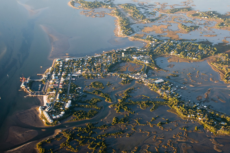Cedar Key - notice the runway at the the top of the picture