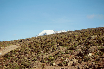 Mount Kilimanjaro from high desert