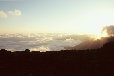 Sunrise from Summit Ridge, Mount Kilimanjaro