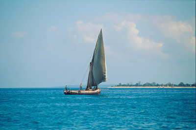 Native Dhow off Pemba, Indian Ocean