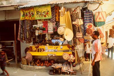 Street Vendor Souvenir Shop, StoneTown