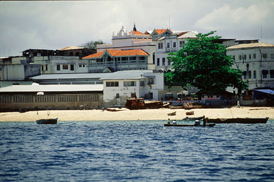 Harbor Beach at Stone Town