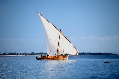 Dhow Indian Ocean Africa