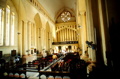 Anglican Church Inside,  Zanzibar