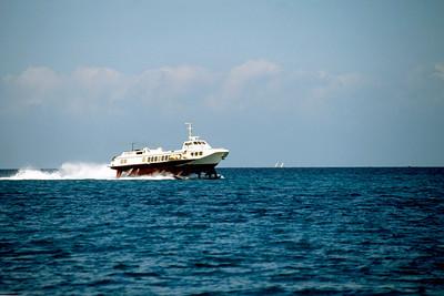 Hydrofoil Indian Ocean Dar es Salaam to Zanzibar