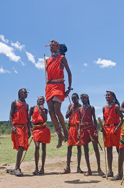 Ben Wilhelmi: another bunch of jumping Maasai warriors