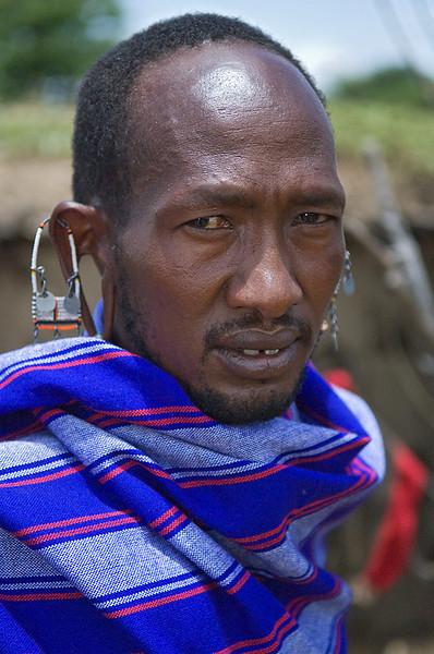 #AF 111 Maasai Tribesman, Kenya