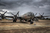 B-29 Superfortress from 1 O'clock