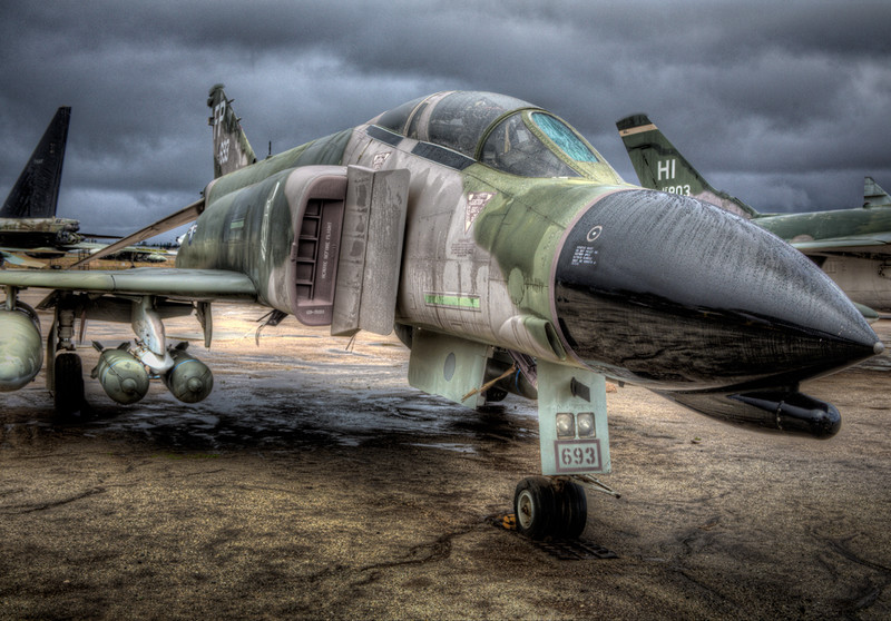 F-4 Phantom from 1 O'clock