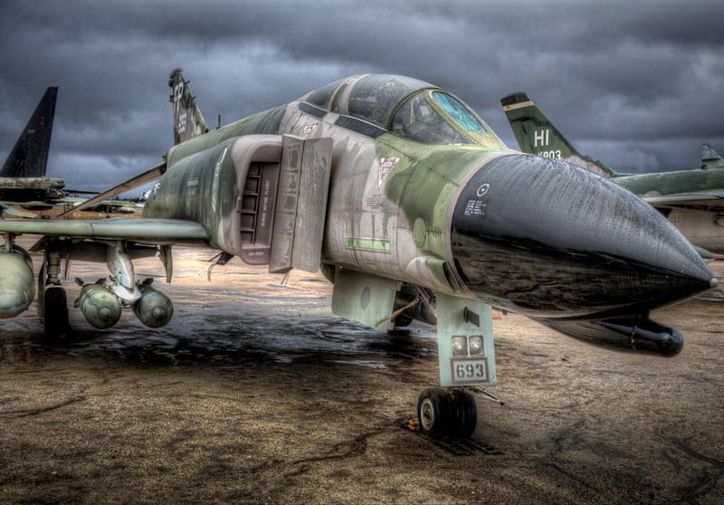 F-4 Phantom from 1 O'clock