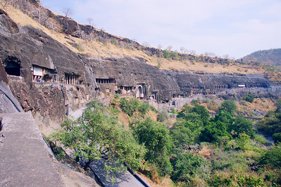 The grand Ajanta wallkway