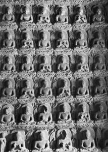 Sahasrabuddha - a thousand Buddhas, Ajanta