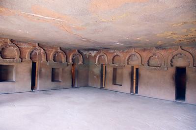 Monk's quarters, Ajanta