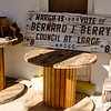 City Council Campaign Sign, Ajo Historical Society Museum