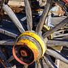 Water Wagon Wheel, Ajo Historical Society Museum