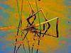 Bent water reeds abstract, original photo was shot at Glacier Ridge Metro Park outside Dublin, Ohio