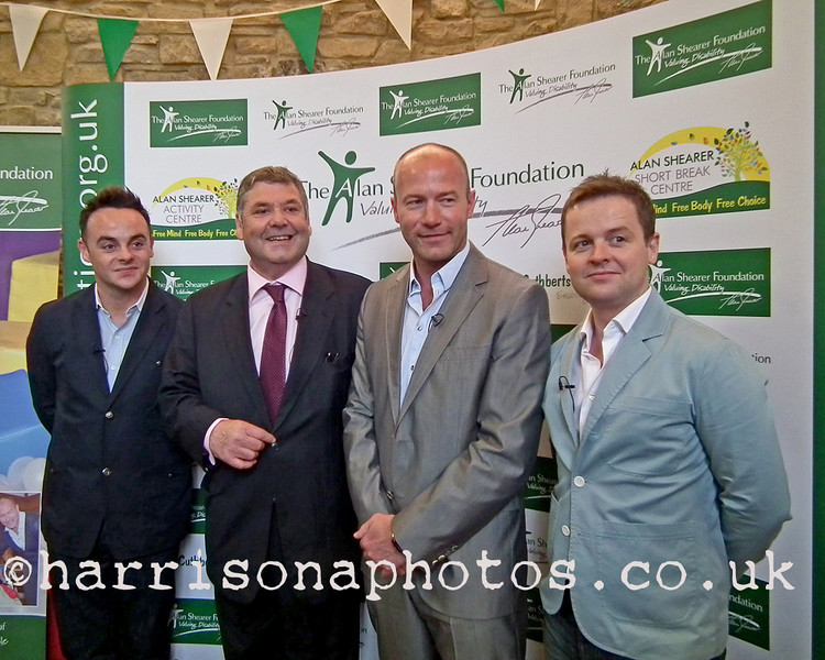 The Alan Shearer Foundation at St. Cuthbert's Care, Newcastle