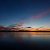 Sunset in Anchorage, Alaska