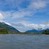 Rafting down the Chilkat River, Alaska