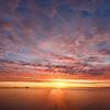 Sunrise in Cook Inlet, Alaska